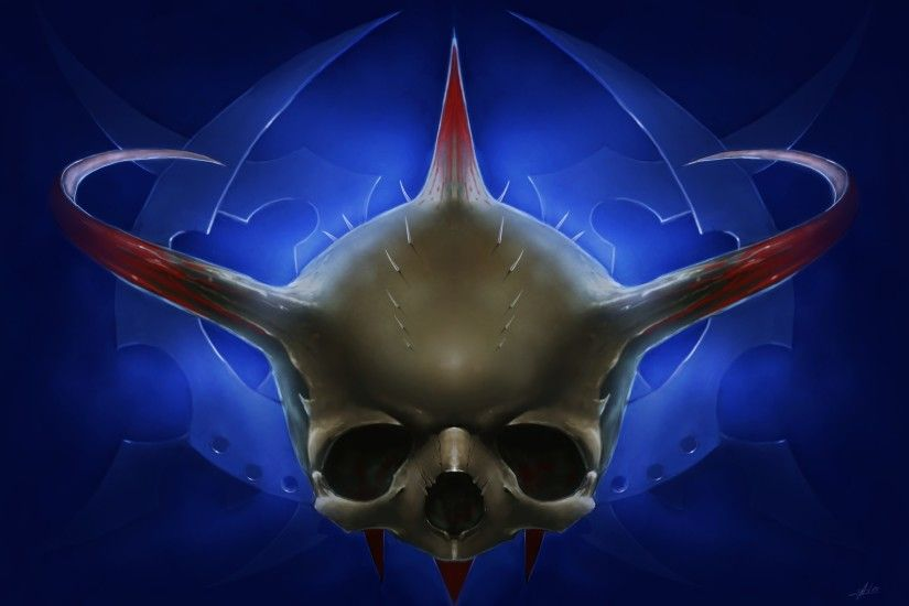 Quake 3 Skull wallpaper from Skulls wallpapers