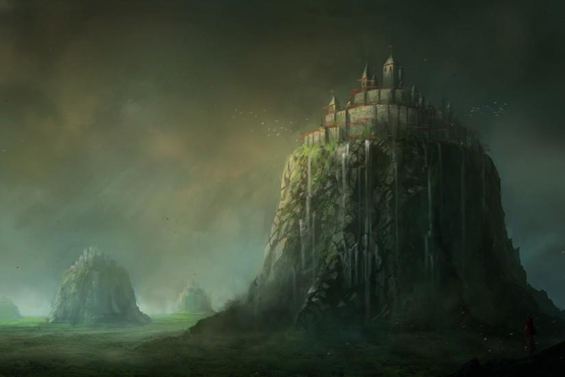 ... Smartphone · Fantasy Castle Wallpaper