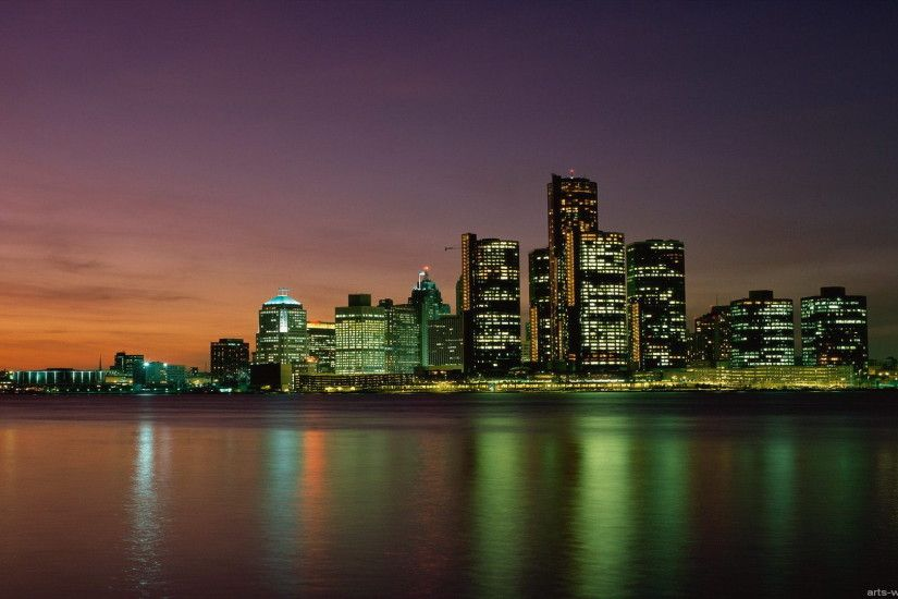 <b>Detroit Skyline</b> by emericanepidemic on DeviantArt