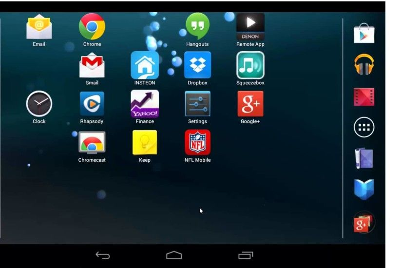 How to change the background on your Google Nexus tablet