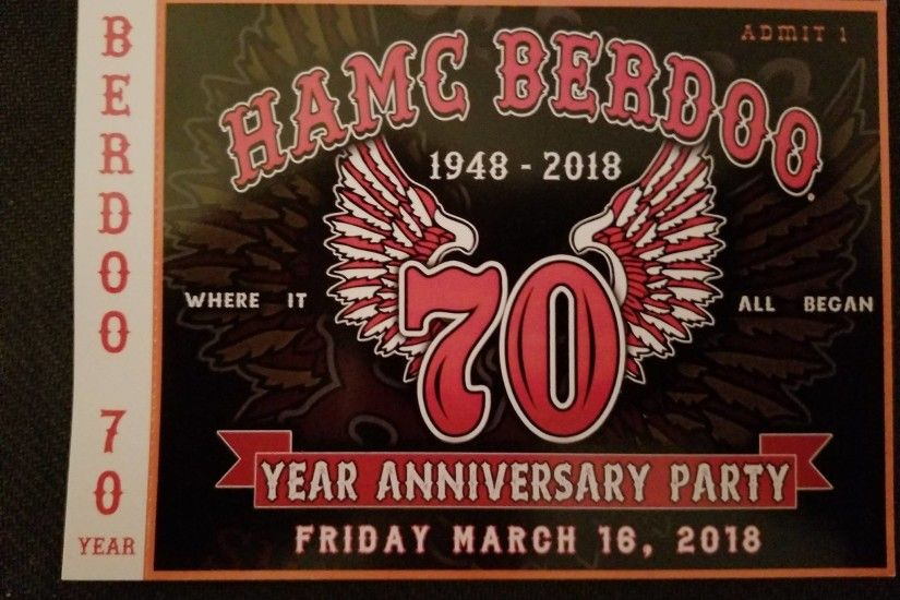 Celebrate 70 Years of Hells Angels Berdoo – March 16 2018