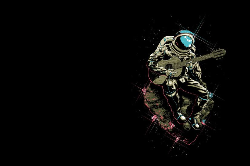 Surreal Astronaut Wallpaper Full Hd