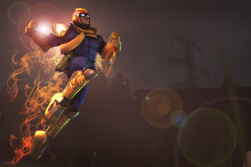 Captain Falcon Wallpaper by Lucas-Zero on DeviantArt