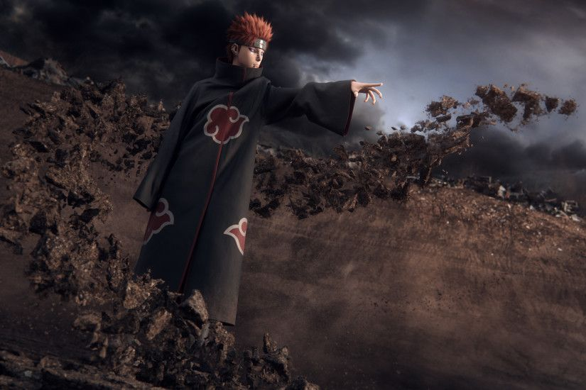 Naruto Tribute - Tendo - The Six Paths Of Pain - ペイン六道 Pein Rikudō -  CGFeedback