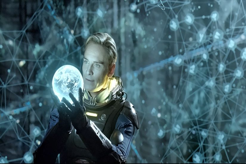 Prometheus - Michael Fassbender as David