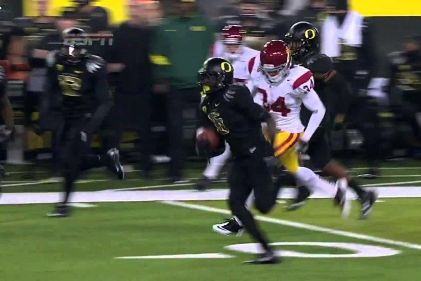 Oregon Ducks De'Anthony Thomas Speed Kills