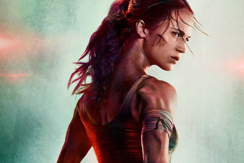 Alicia Vikander Latest New Tomb Raider Movie HD Wallpapers