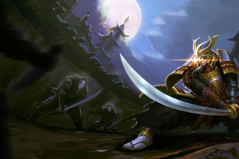League Of Legends Master Yi Samurai Ninjas