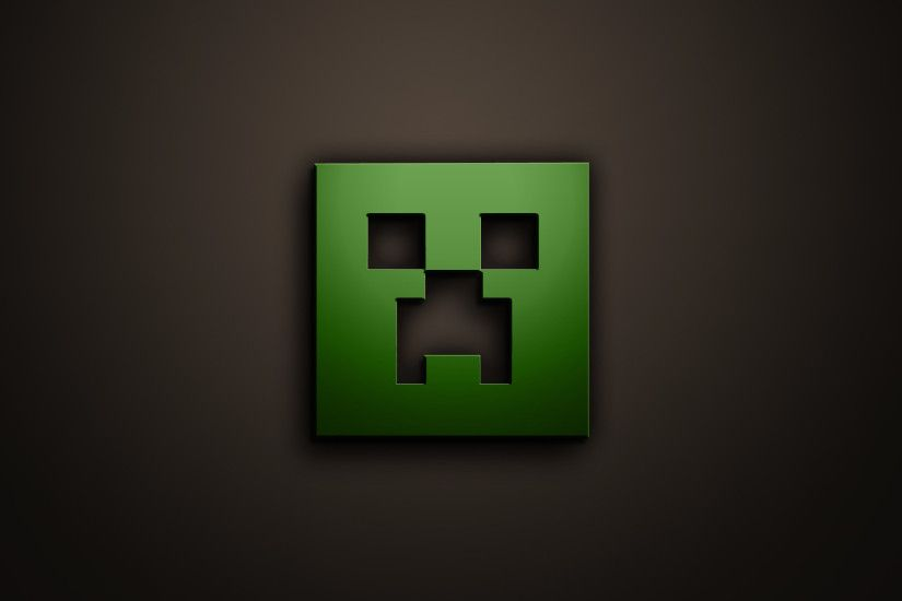 Minecraft Creeper Face Black Background