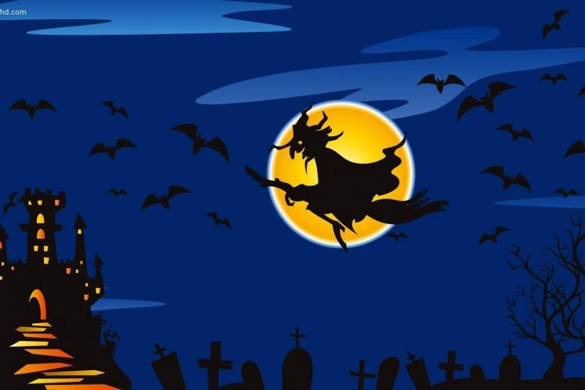 Halloween Witch Wallpaper | Free Internet Pictures