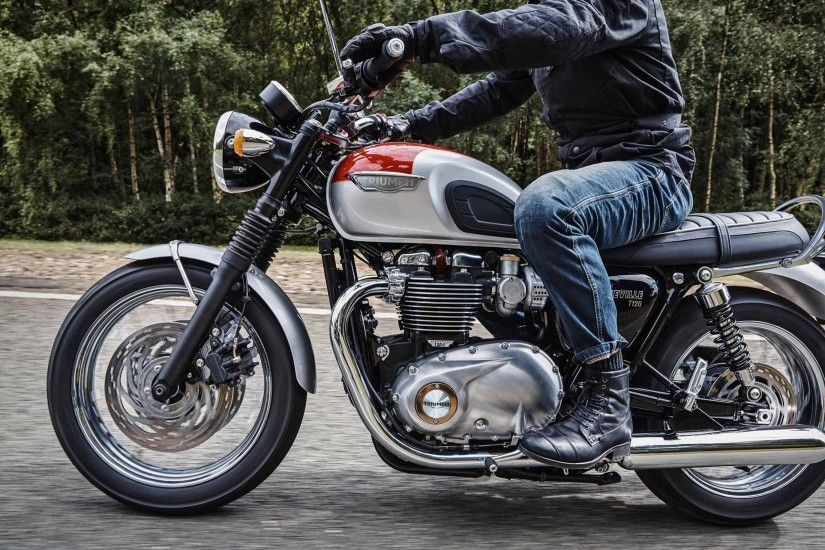2017 Triumph Bonneville T120 Picture HD Motorcycle Wallpapera