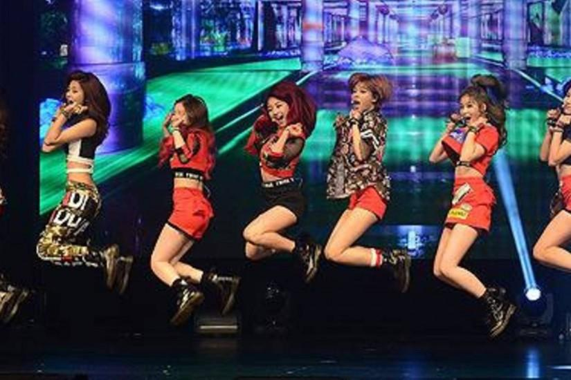 Twice, On stage
