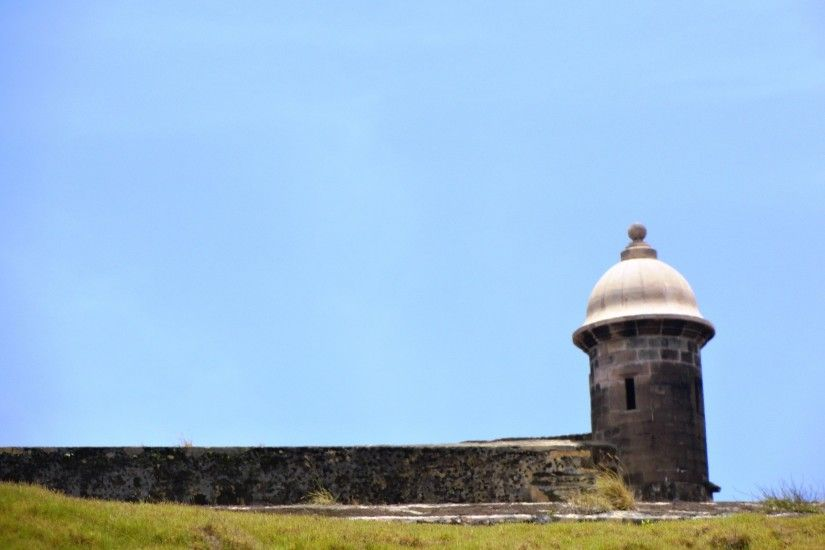 Old San Juan Murallas Puerto Rico Cristobal El Morro Desktop Photo