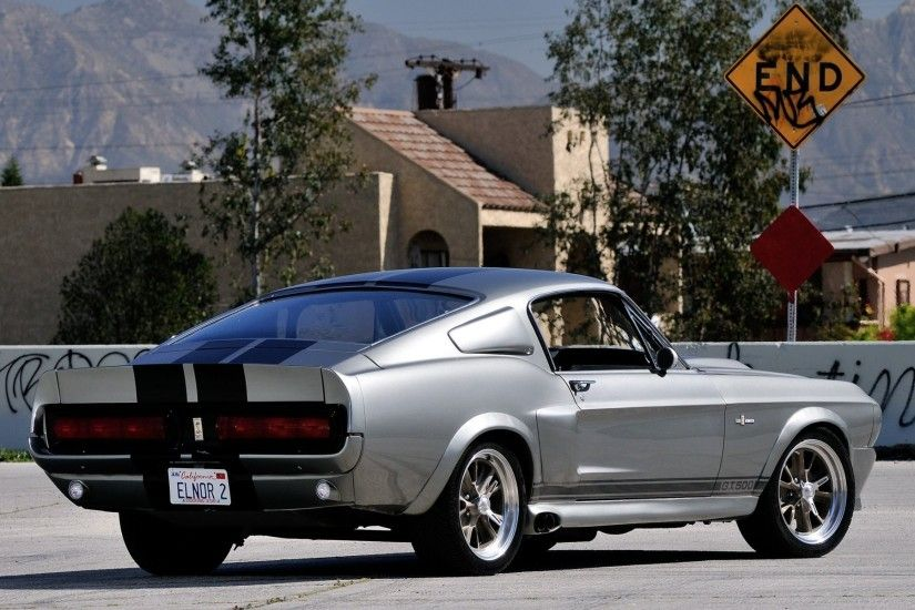 ford mustang gt500 eleanor ford mustang eleanor muscle car muscle car rear  view mark background