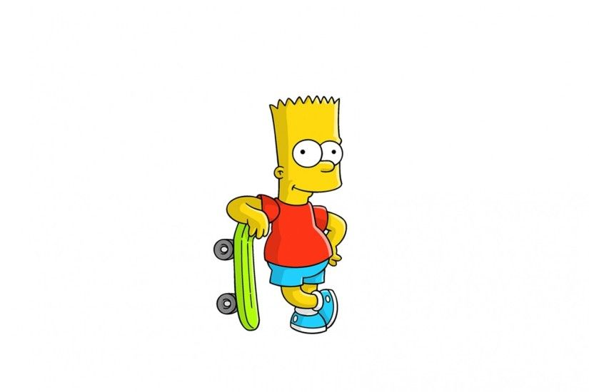 wallpaper.wiki-Download-Free-Bart-Simpson-Wallpaper-PIC-