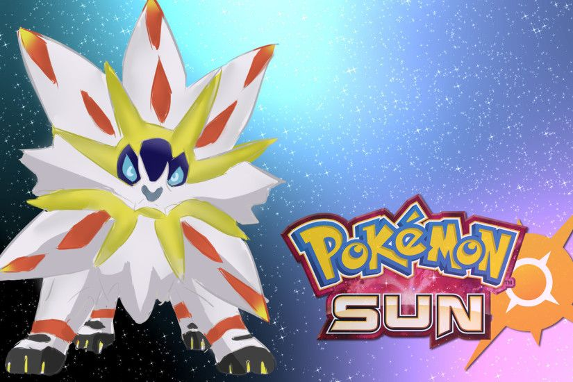 Pokemon Sun legendary Wallpaper HD