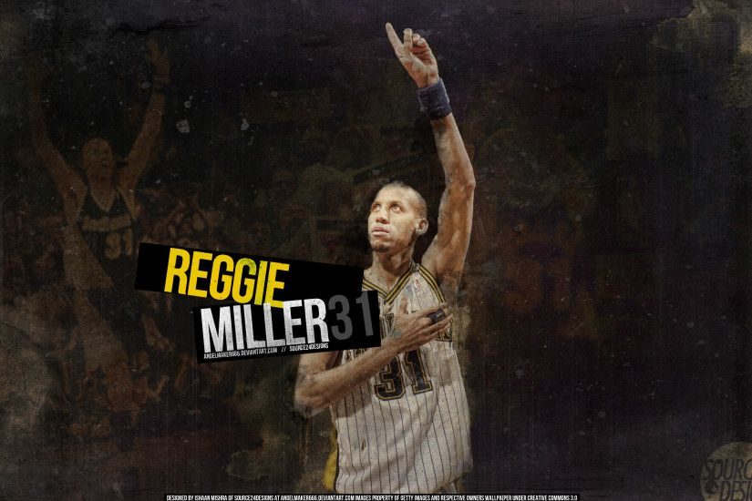 danielboveportillo 20 9 Reggie Miller Pacers Wallpaper by IshaanMishra
