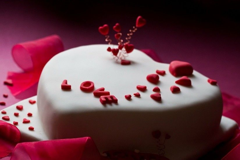Love Sweet Cake With Toffees Wallpaper | HD Birthday Wallpaper Free  Download ...