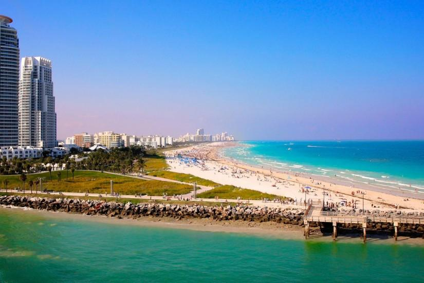 Images For > Miami Beach Wallpaper Widescreen