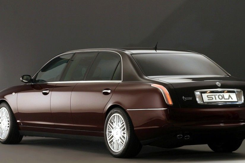 ... lancia thesis rear side hd wallpapers backgrounds ...
