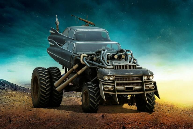 Mad Max Fury Road Vehicles 1920 x 1080 Wallpaper