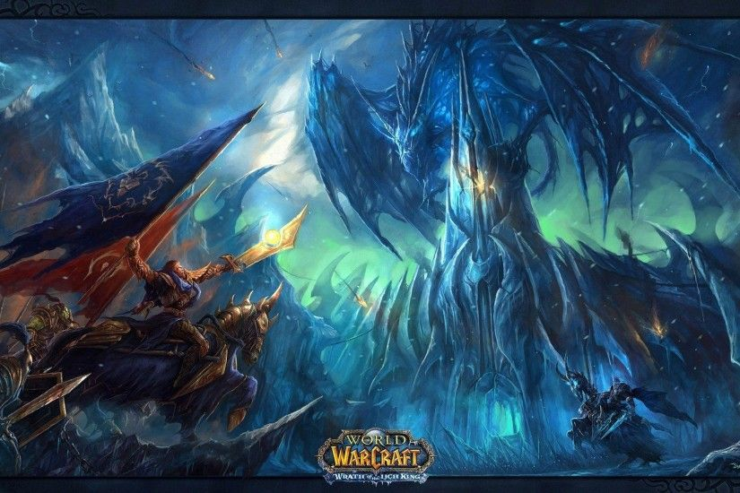 World of WarCraft: Wrath of the Lich King (PC) - Games Wallpaper .