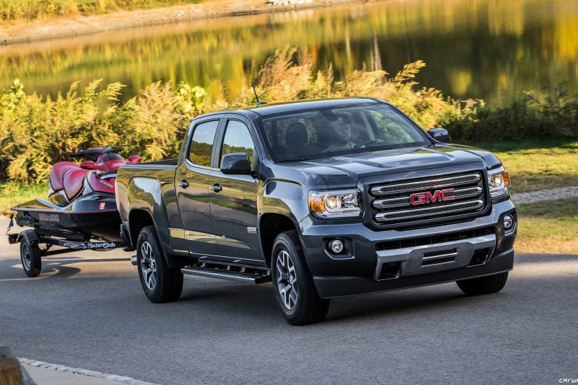 GMC Canyon cars wallpapers >> ...