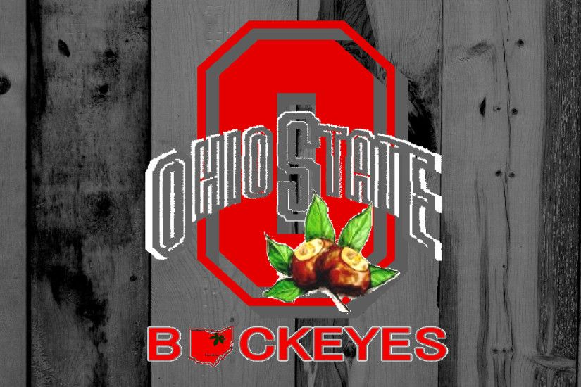 Ohio State Buckeyes images OHIO STATE BUCKEYES RED BLOCK O ON GRAY BARN HD  wallpaper and background photos