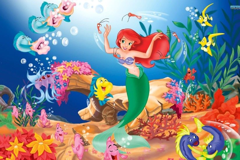 Little Mermaid Under The Sea Wallpaper