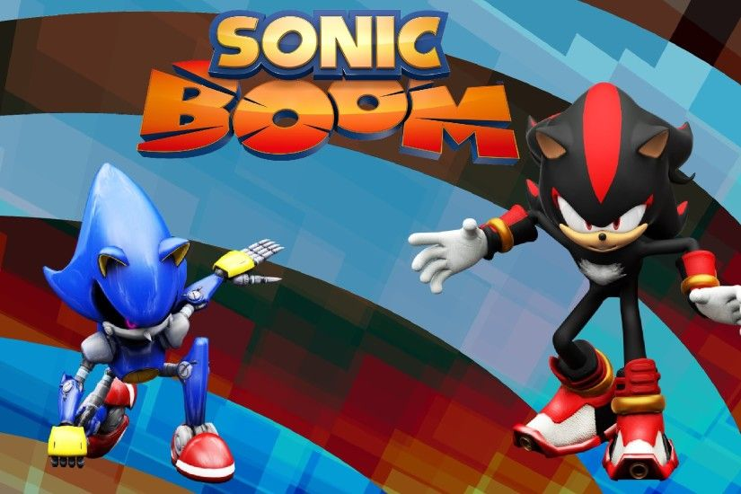 ... Shadow and Metal Sonic - Sonic Boom Wallpaper by Knuxy7789