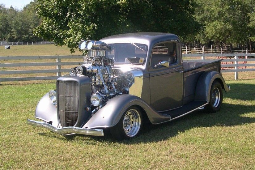 hot rod pictures | Supercharged Hot Rod wallpapers and stock photos