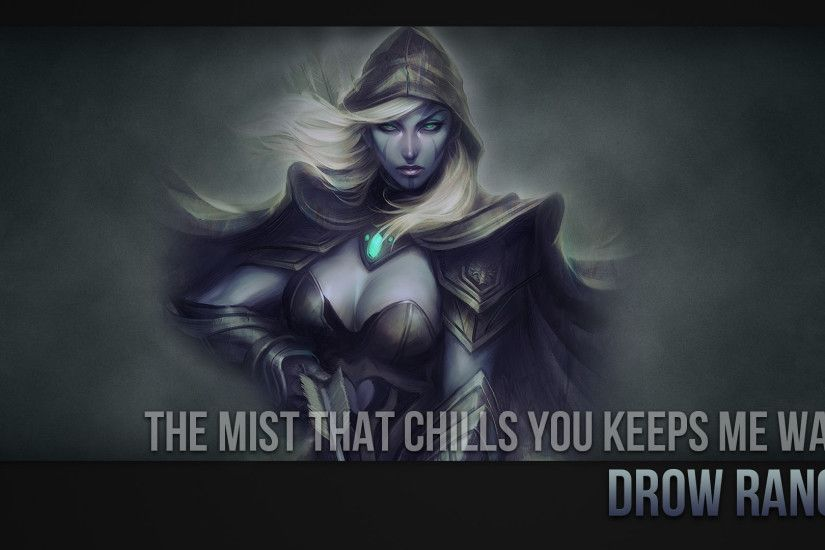 Drow Ranger Wallpaper by ImKB Drow Ranger Wallpaper by ImKB