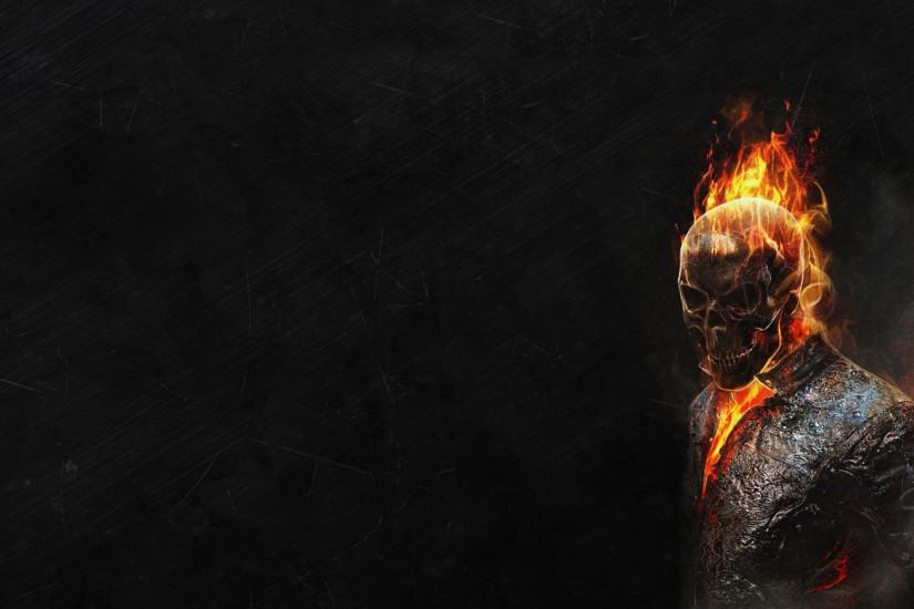 Ghost Rider HD Wallpapers Black background
