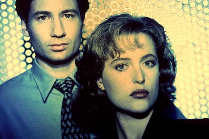 Preview wallpaper the x files, dana scully, gillian anderson, fox mulder,  david