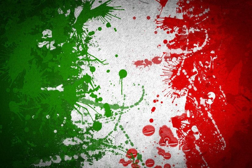 Abstract Italy Flag Wallpaper Image Picture