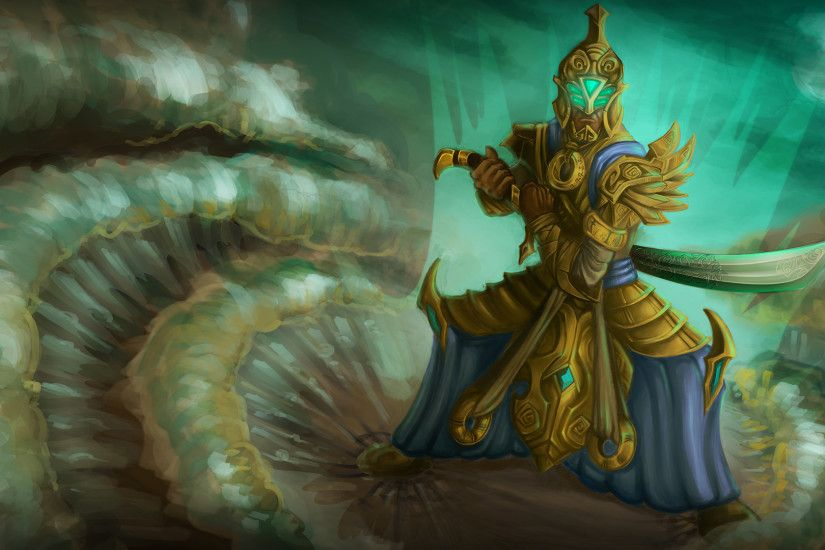 ... Master Yi The Elven Armor by sekroll123