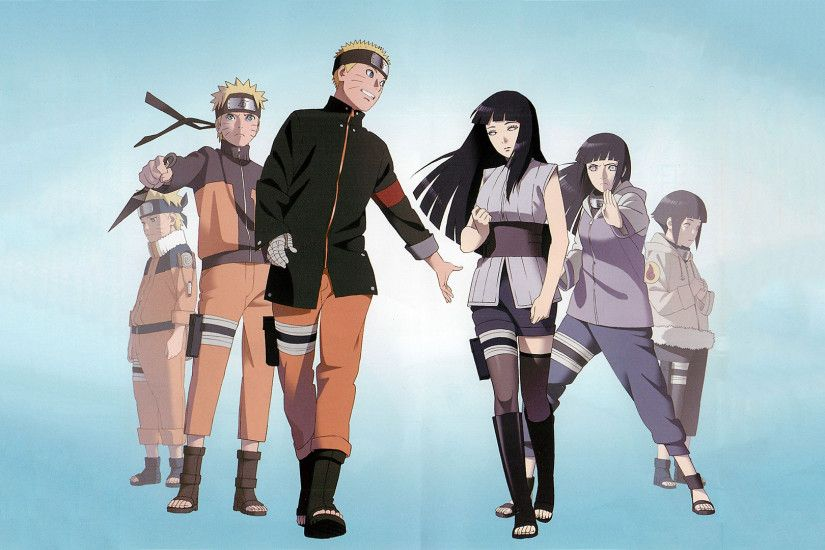 Naruto and Hinata growing up wallpaper 1900x1080