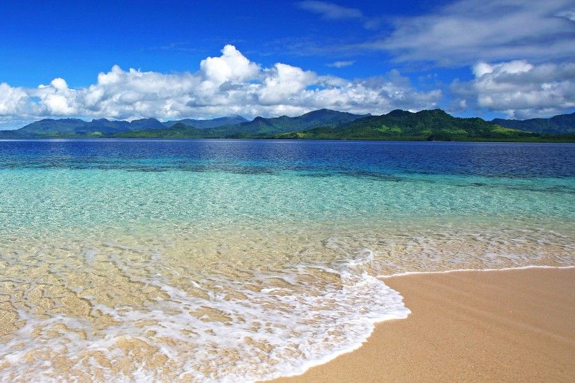 Fiji Beach Desktop Free HD Wallpaper - wallpaper source