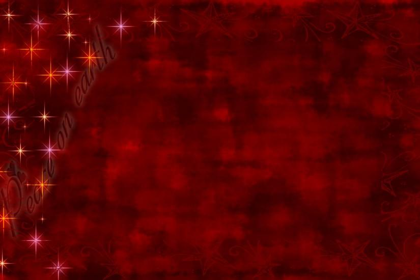 Background for web or greeting cards with blended red base; golden stars and  the faded ...