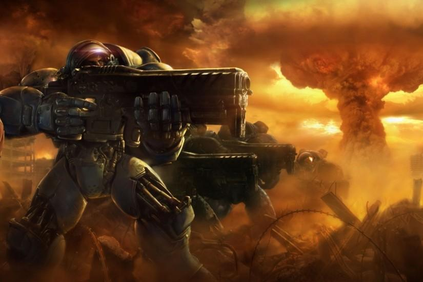 download starcraft wallpaper 3840x2160 windows xp