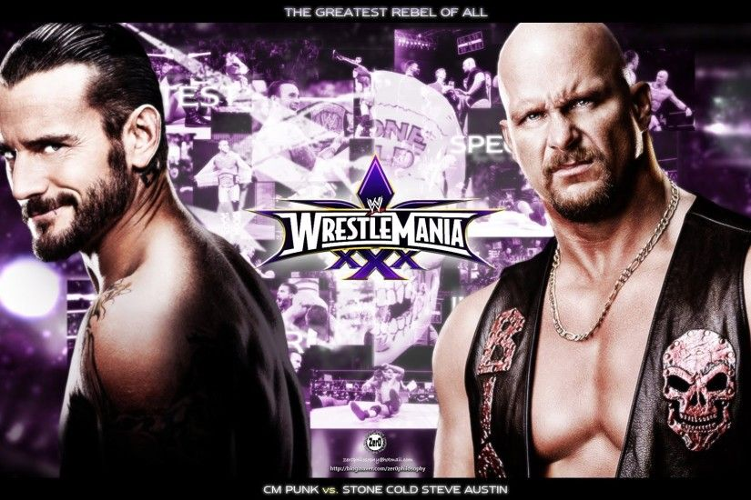 WWE 13 WrestleMania 30 Cm Punk Vs Stone Cold Steve Austin Match Gameplay -  YouTube