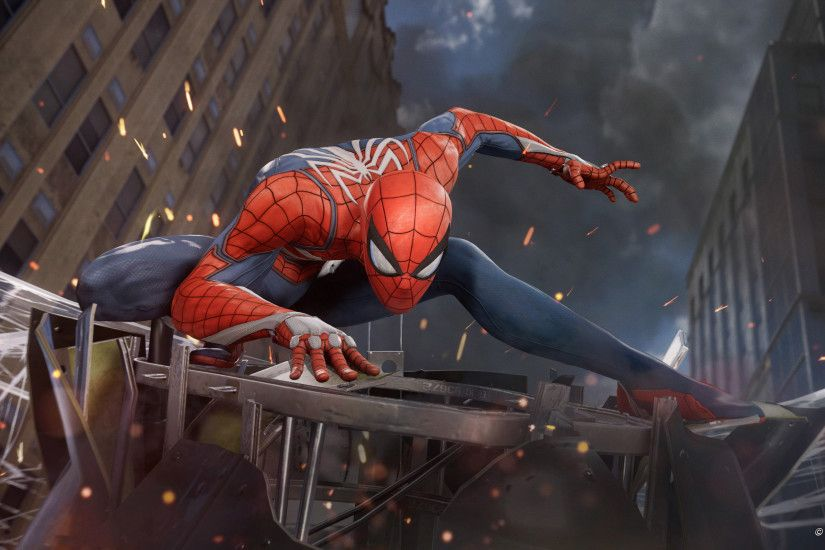 New computer game Spider-Man (PS4), 2018
