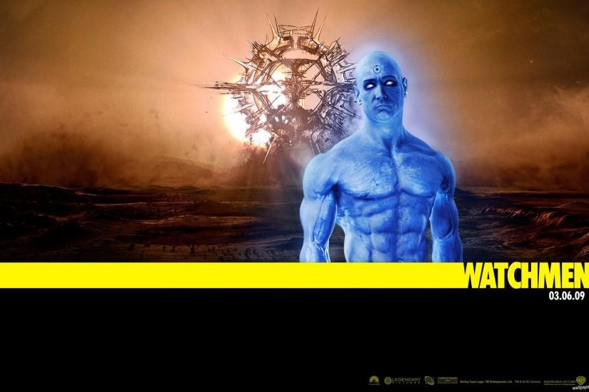 Dr Manhattan Watchmen Wallpaper
