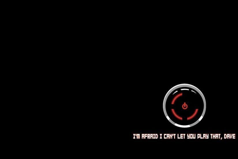 HAL 9000, Xbox, Xbox 360, Red Ring Of Death, Simple, Black, Black  Background, Humor, Video Games, 2001: A Space Odyssey, Robot Wallpapers HD  / Desktop and ...