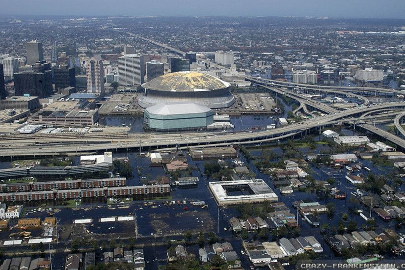 Wallpaper: After Hurricane Katrina New Orleans wallpapers. Resolution:  1024x768 | 1280x1024 | 1600x1200. Widescreen Res: 1440x900 | 1680x1050 |  1920x1200