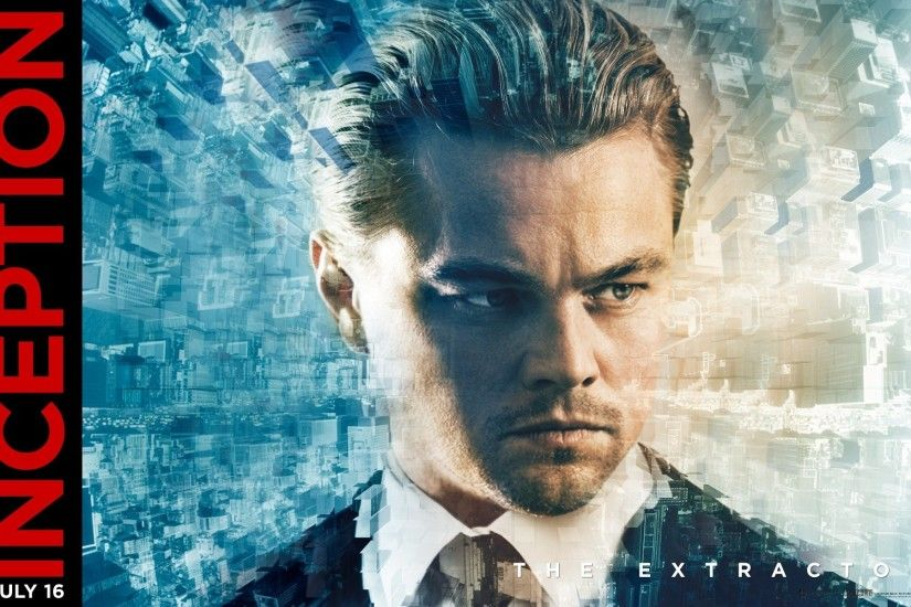 Leonardo DiCaprio Inception Movie Cover Image