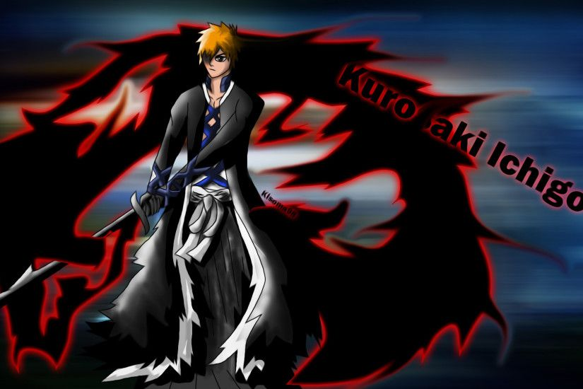 ... Bleach-Fan art: Ichigo Fullbring bankai by kisoma98