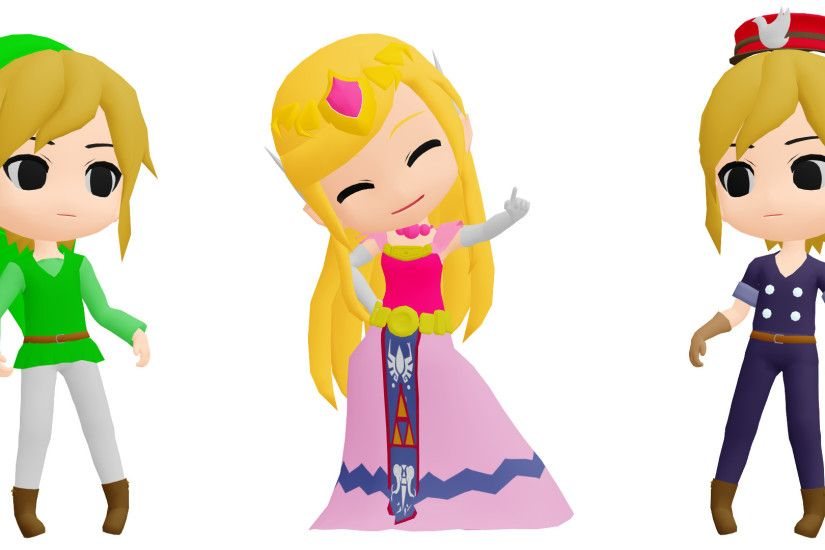 ... MMD Toon Link and Toon Zelda DL by 2234083174