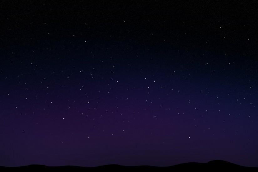 beautiful night sky wallpaper 1920x1200 windows 7