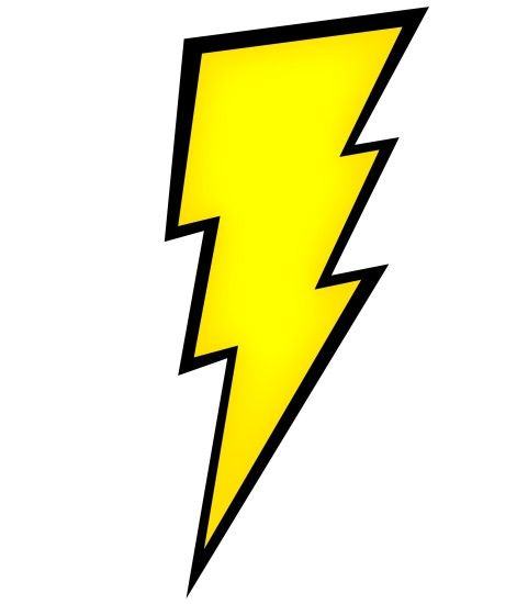Picture Of A Lightning Bolt - Clipart library